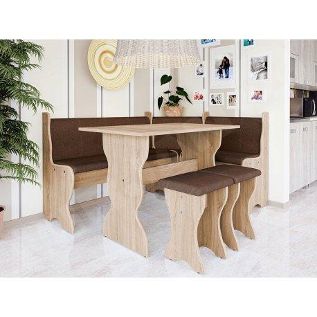 Colțare de bucătărie + Masa cu scaune