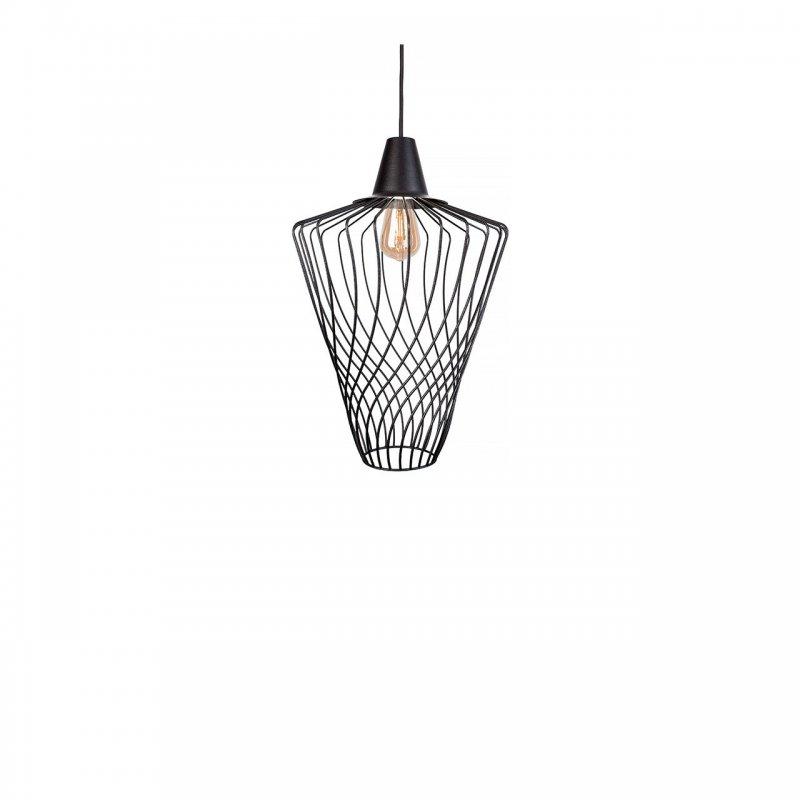 Lampă industrială modernă Wave Black L 8856