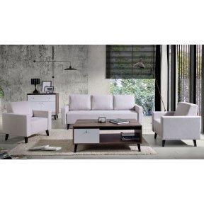 Set de mobilier + Mobilă tapitață Naviedo Gloss II