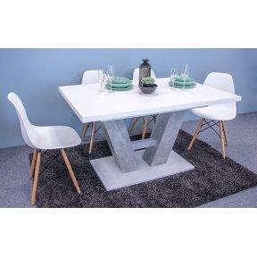 Masa Concrete 5002234 BEB + Set 4 scaune Betty