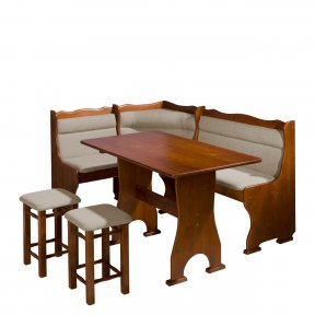 Colțare de bucătărie + Masa cu scaune Porfiry