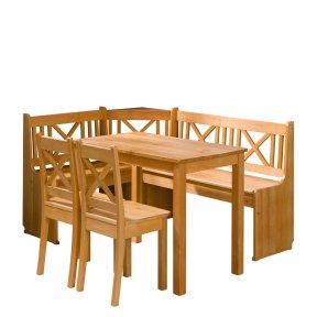 Colțare de bucătărie + Masa cu scaune Santiago